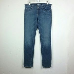 7 For All Mankind Roxanne Classic Skinny Jeans 30